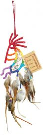 Kokopelli, 7 Inch Dream Catcher - Tree Of Life Shoppe