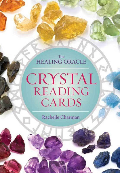 Crystal Reading cards deck & book by Rachelle Charman - Tree Of Life Shoppe