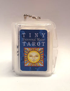 Tiny Tarot Key Chain (Universal Waite Tarot) by Smith & Hanson-Roberts - Tree Of Life Shoppe