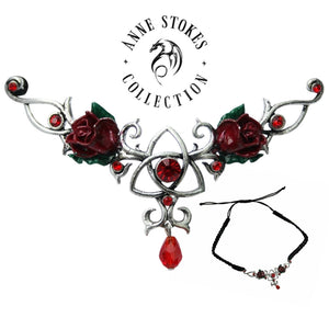 Hengeband Unity Rose for Love and Friendship by Anne Stokes - Tree Of Life Shoppe
