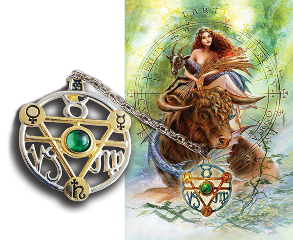 Elemental Earth Talisman and Card - Tree Of Life Shoppe