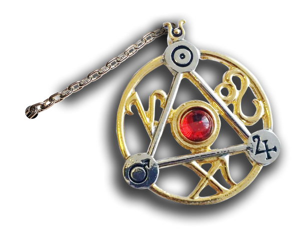 Elemental Fire Talisman and Card - Tree Of Life Shoppe