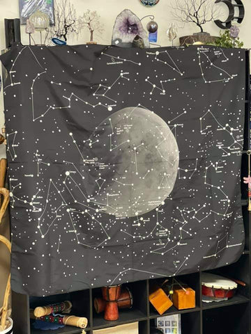 Constellations Silky Tapestry 51 x 59