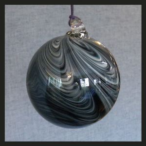 Black as Night Witch Globe 4 inch