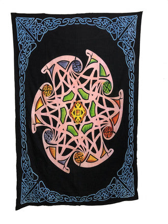 Indian Cotton Tapestry Earth (135 x 220 cm) - Tree Of Life Shoppe