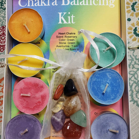 Chakra Balancing Kit - Tree Of Life Shoppe