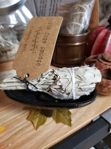 White Sage Smudge Wand - Cleanse - Heal - Tree Of Life Shoppe