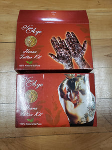 New Age Henna Tattoo Kit - Tree Of Life Shoppe