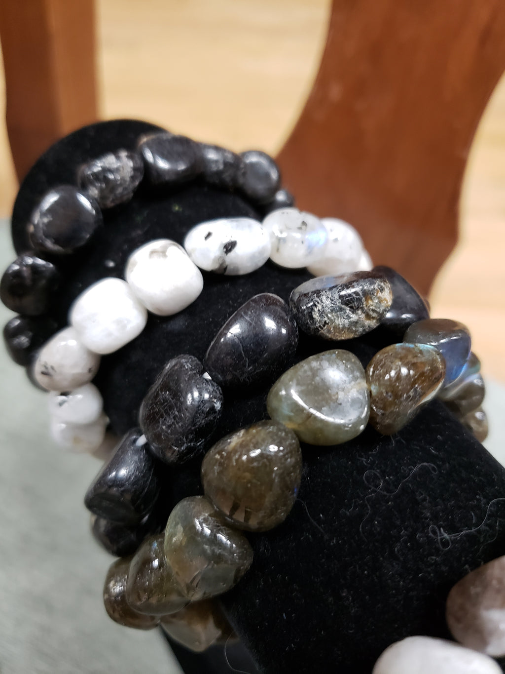 Tumbled Nuggets Bracelets - Various