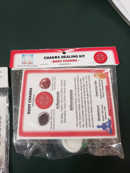 Root Chakra Healing Kit by Deep Healing Light