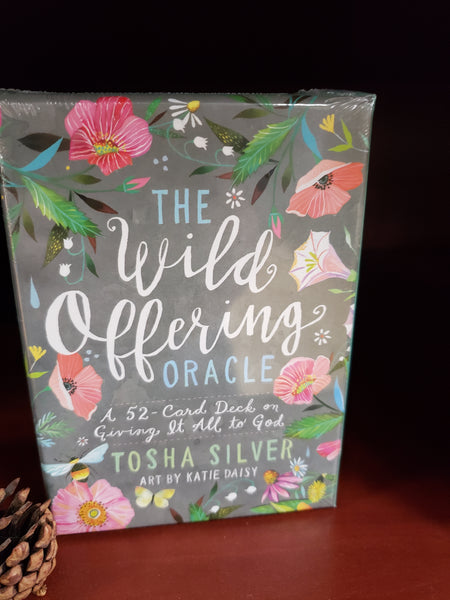 The Wild Offering Oracle By Tosha Silver - Tree Of Life Shoppe