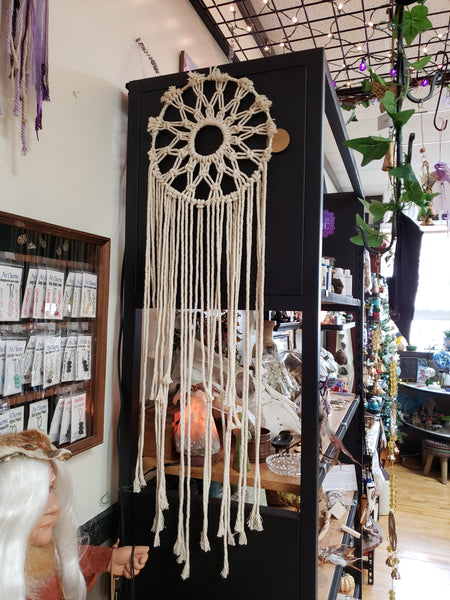 Circle of Life Macrame Dreamcatcher - Tree Of Life Shoppe