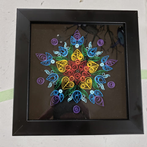 Mandala Quilling Art by Marky - Tree Of Life Shoppe