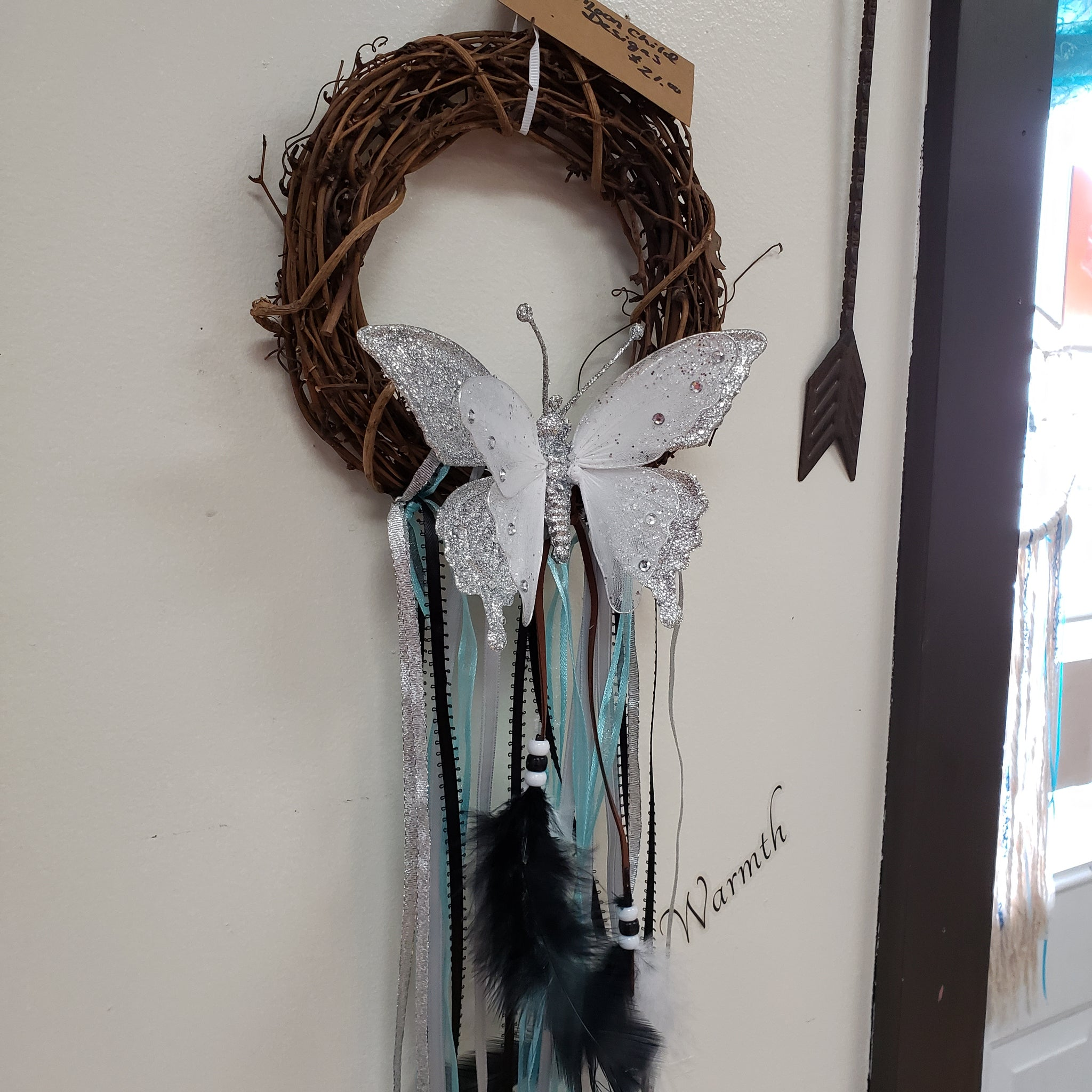 Full Moon Butterfly Wreath - Tree Of Life Shoppe