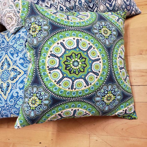 Yoga and Meditation Square Pillows 20 by 20 inches - Tree Of Life Shoppe
