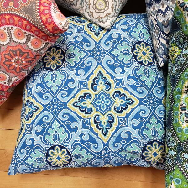 Yoga and Meditation Square Pillows 18 by 18 inches - Tree Of Life Shoppe