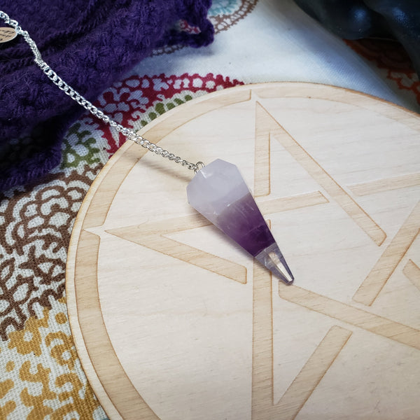 Goddess Crystals Pendulum - Tree Of Life Shoppe