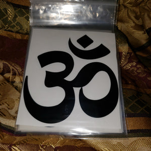 OM Symbol Sticker / Decal 4 inch - Tree Of Life Shoppe