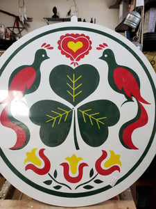 Hex Sign - Irish 15 Inches - Tree Of Life Shoppe