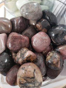 Rhodonite - Tumbled - Tree Of Life Shoppe