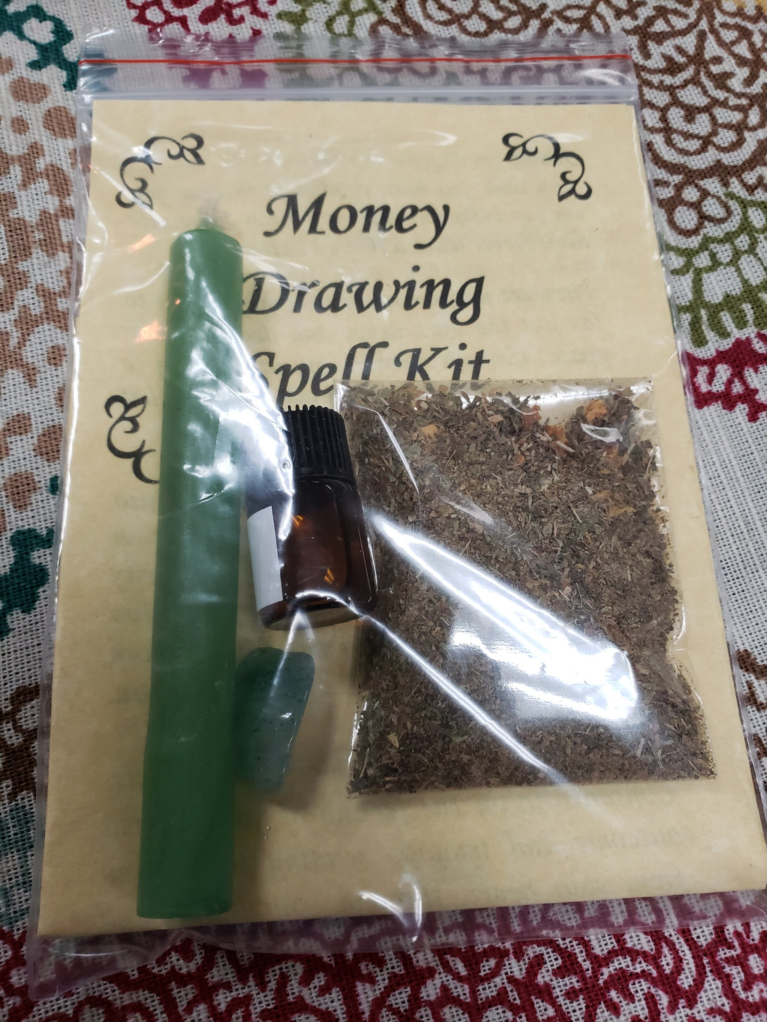 Money Drawing Spell Kit - Tree Of Life Shoppe