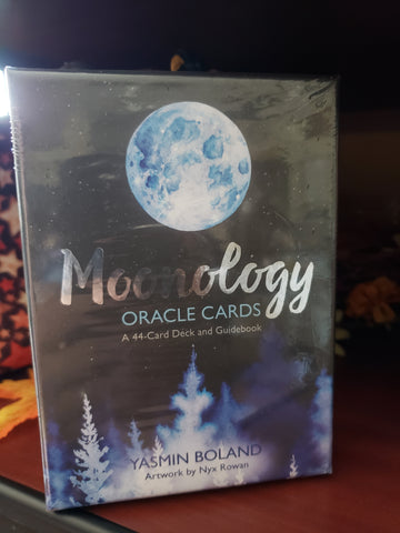 Moonology Oracle Cards by Yasmim Boland - Tree Of Life Shoppe