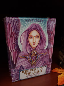 Keepers of the Light Oracle Cards by Kyle Gray - Tree Of Life Shoppe