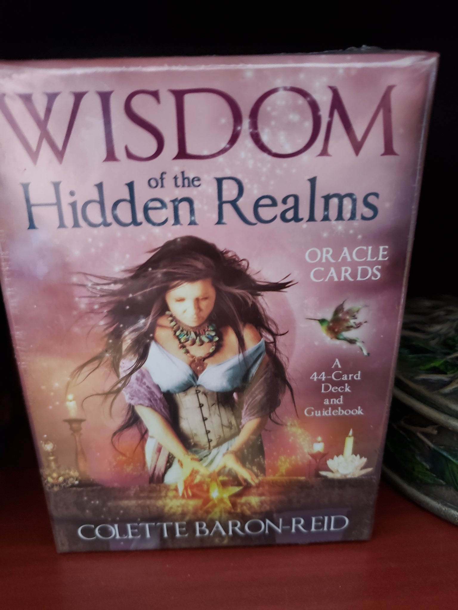 Wisdom of the Hidden Realms Oracle Cards - Tree Of Life Shoppe