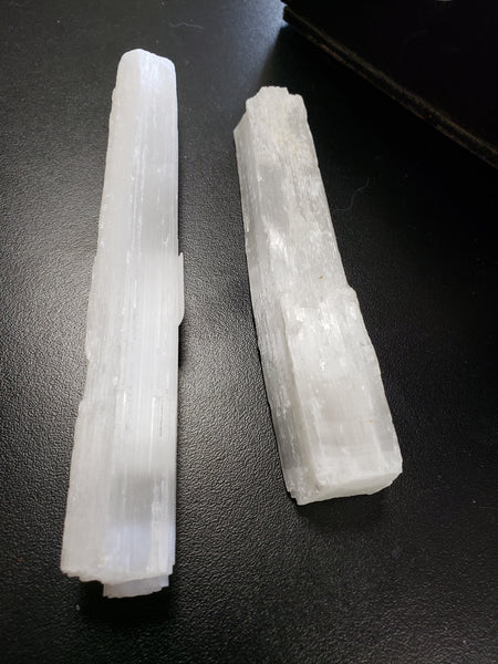 Selenite Raw Wand 3 to 5 inches - Tree Of Life Shoppe