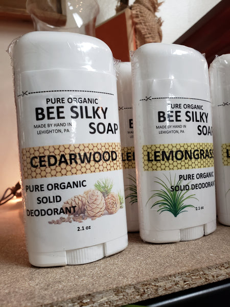 Bee Silky Deodorant - Various - Tree Of Life Shoppe
