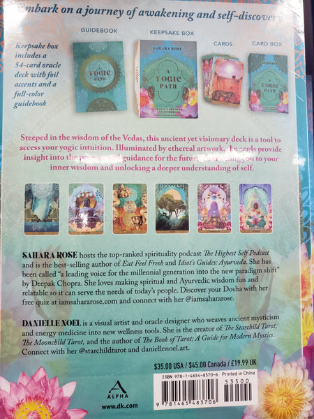 A Yogic Path Oracle by Sahara Rose - Tree Of Life Shoppe