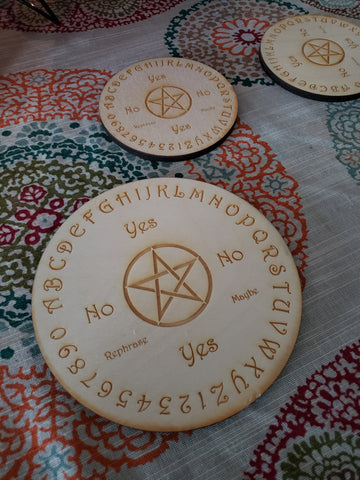 PENDULUM Board Pentacle Crystal Grid - Tree Of Life Shoppe