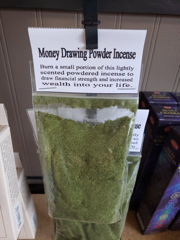 Money Drawing Powder Incense - Tree Of Life Shoppe
