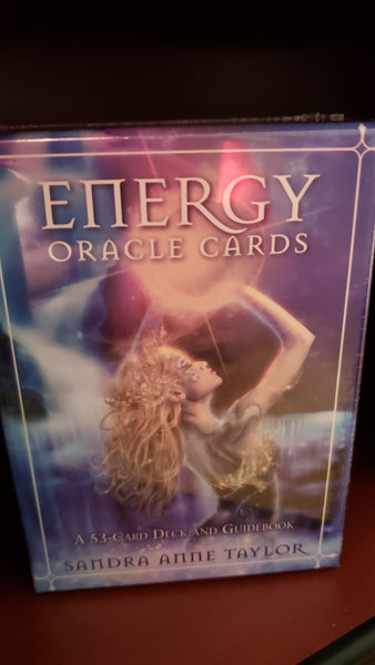 Energy Oracle Cards by Sandra Anne Taylor