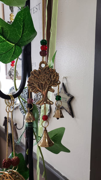 Tree of Life Brass Chime 9 Inch - Tree Of Life Shoppe