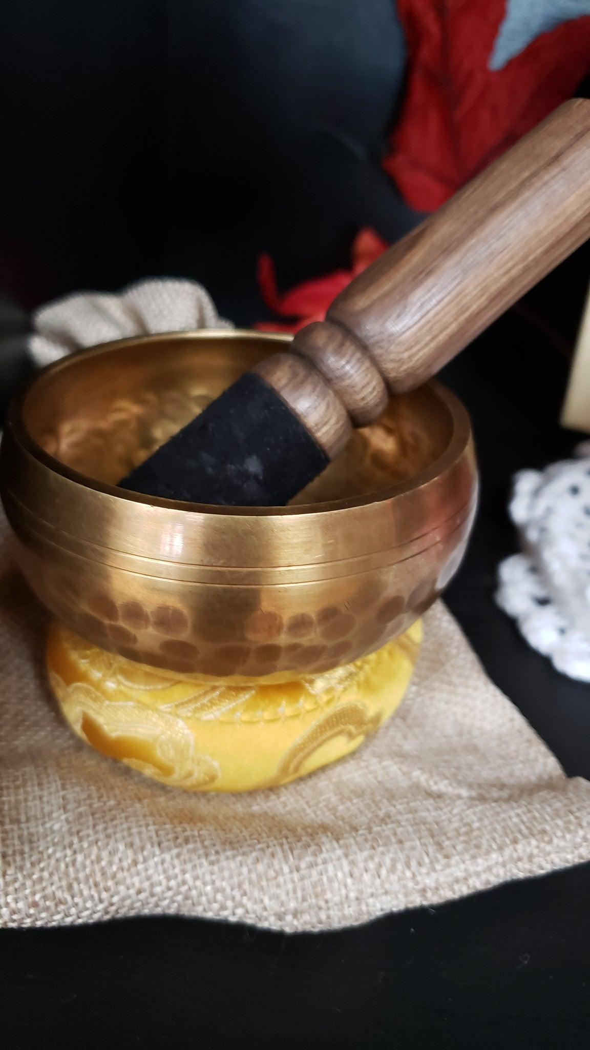 Tibetan Singing Bowl Set Meditation Bowl - Tree Of Life Shoppe