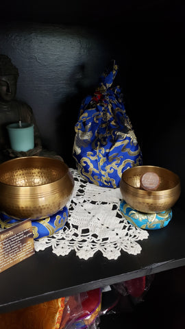Tibetan Singing Bowl Gift Set - Tree Of Life Shoppe