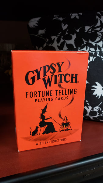 Gypsy Witch Fortune Telling Playing Card by Mlle Lenormand (attributed) - Tree Of Life Shoppe