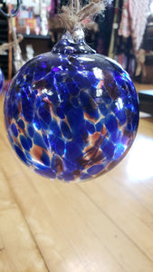 Witch's Blue Moon Witch Ball 4 inches - Tree Of Life Shoppe