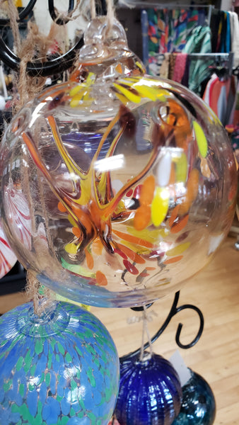 A Witches Season Witch Ball 8 inches - Tree Of Life Shoppe