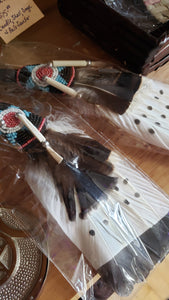 Healing Smudger 5 Feather Fan - Tree Of Life Shoppe