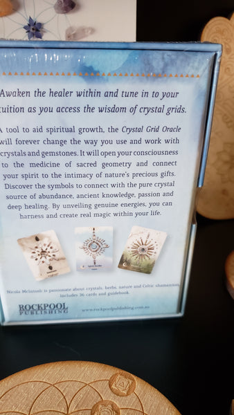 Crystal Grid Oracle: Spritual Guidance Using Nature's Tools - Tree Of Life Shoppe