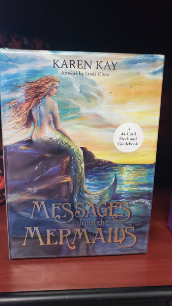 Messages from the Mermaids: A 44-Card Deck and Guidebook - Tree Of Life Shoppe