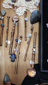 Handcrafted Copper Travel Wands - Various Styles - Tree Of Life Shoppe