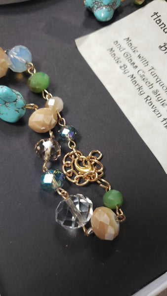 Hand Crafted Earring and Bracet Set - Tree Of Life Shoppe