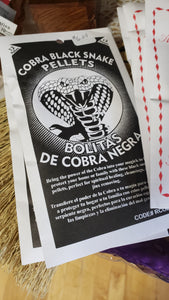 Cobra Black Snake Pellets - Tree Of Life Shoppe