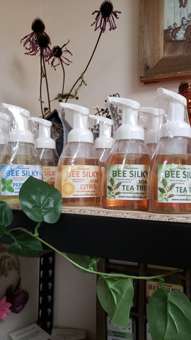 Bee Silky Castile Liquid Soaps - Hand and Face