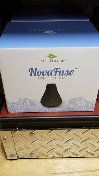 Nova Fuse USB Diffuser - Black or White Models - Tree Of Life Shoppe