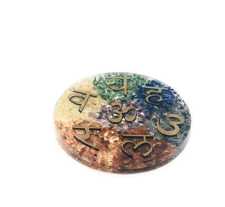Orgone Energy Charging Plate - Chakras