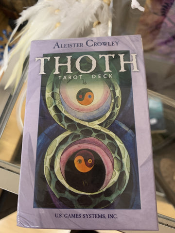 Thoth Tarot Deck by Aleister Crowley - Tree Of Life Shoppe